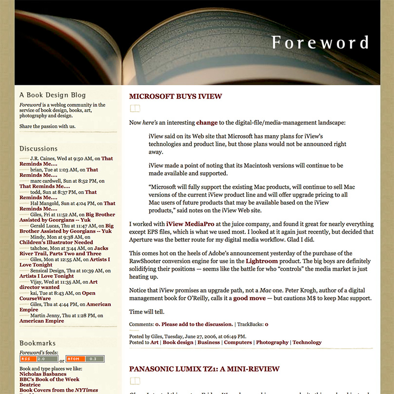 Giles Hoover | The New Foreword Blog