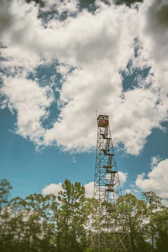 East Macon fire watch tower