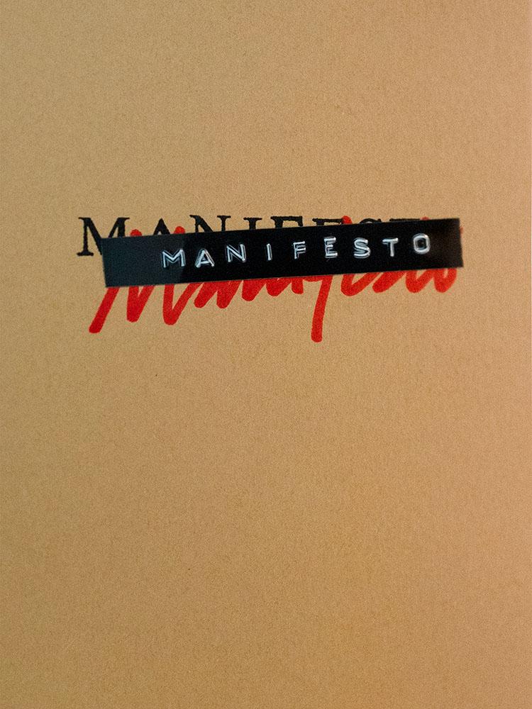 Manifesto - Cover