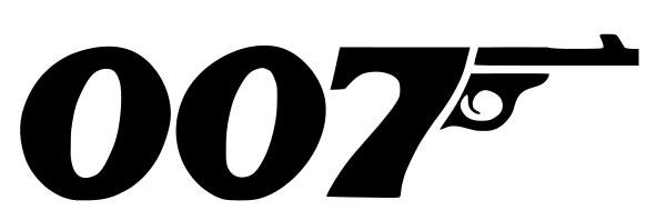 The 007 logo