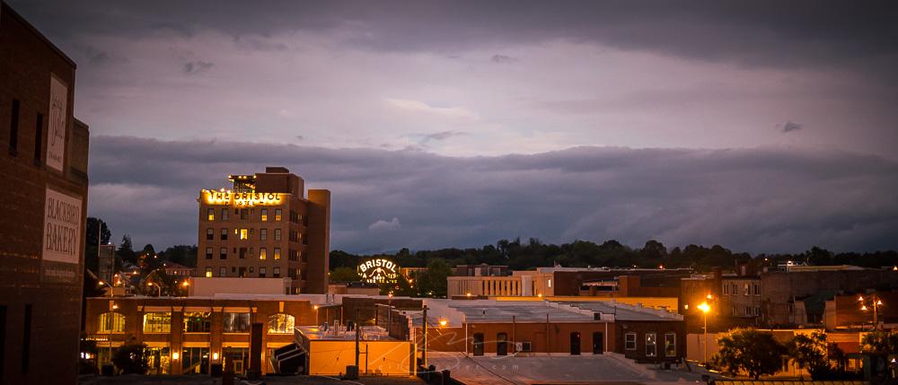 Downtown @ night