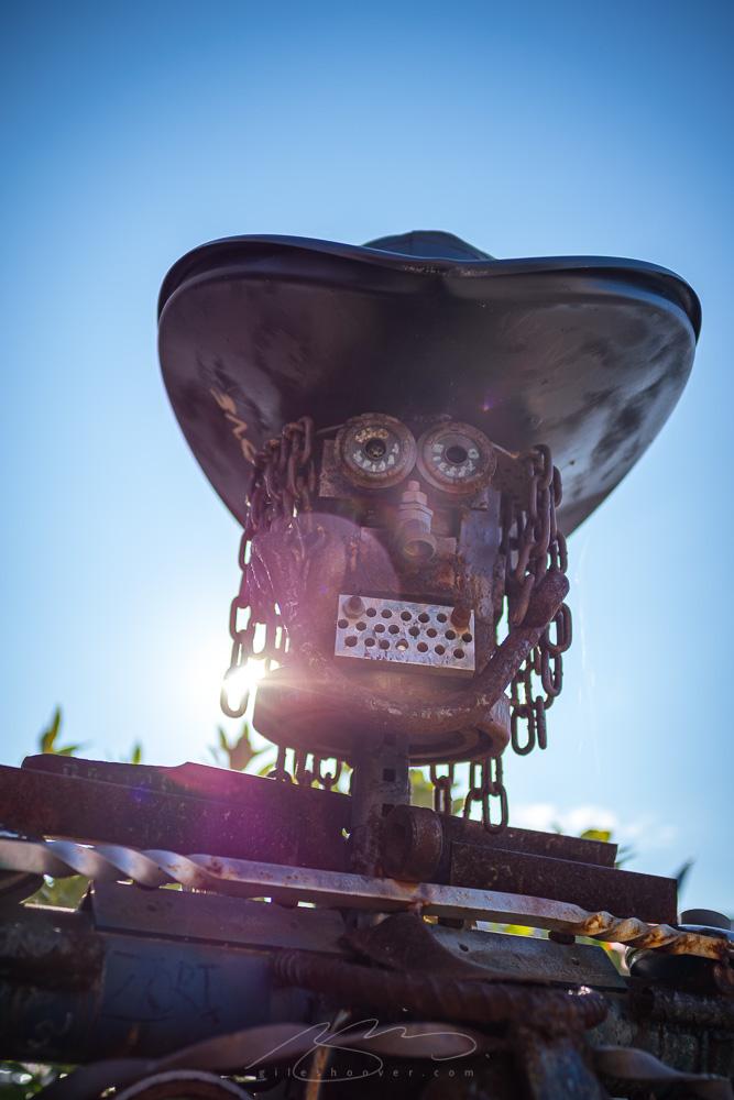 Metal street art (VA)