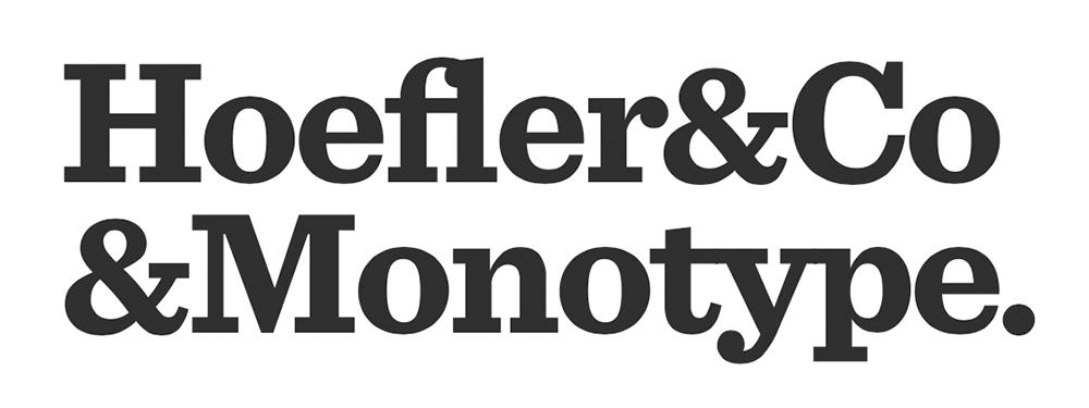 Hoefler and Monotype
